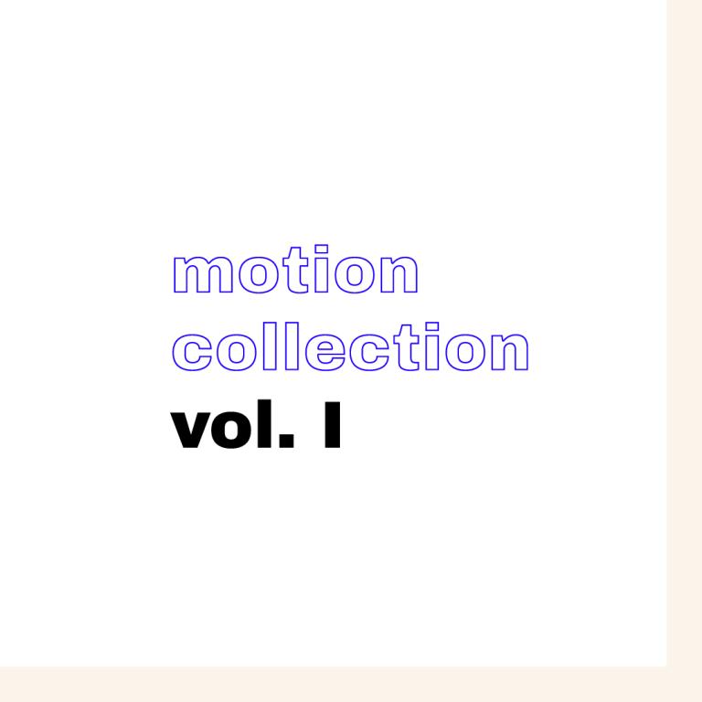 Colección de motion vol. I