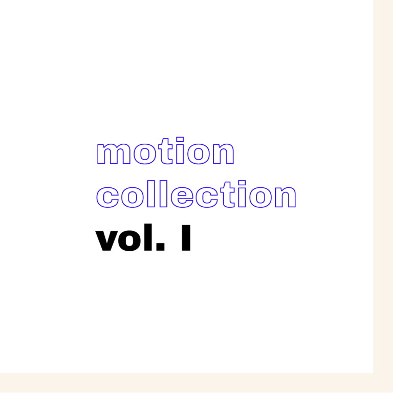 Motion Collection vol. I